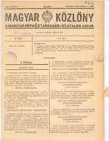 Magyar Közlöny a46e84e5f5
