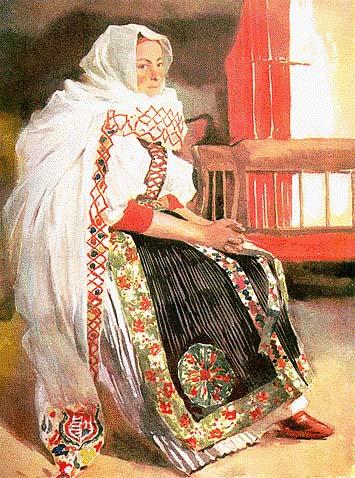 d0ba2c351e Viselet | Malonyai Dezső: A magyar nép művészete | Kézikönyvtár