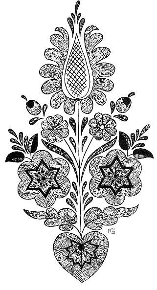 e22e225ac2 Viselet. | Malonyai Dezső: A magyar nép művészete | Reference Library