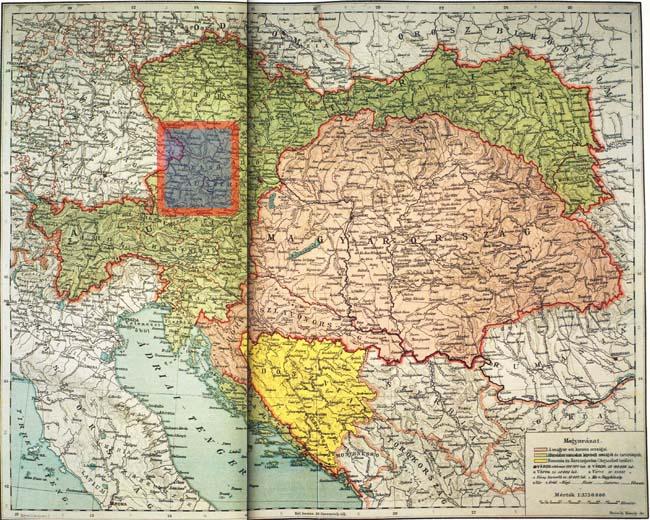 Felso Ausztria Az Osztrak Magyar Monarchia Irasban Es Kepben